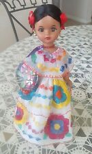 Vintage Mexican Doll hand made in Mexico.
