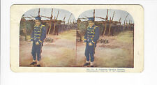 Ingersoll Stereoviews: Siege of Port Arthur, #12 A Japanese Cavalry Hostler