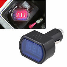 LED Display Cigarette Lighter Electric Voltage Meter for Auto Car Battery DC 12V