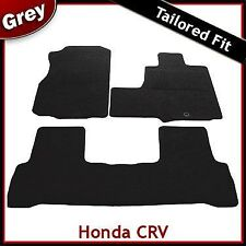 Honda CRV (2006 2007 2008 2009 2010 2011 2012) Tailored Carpet Car Mats GREY