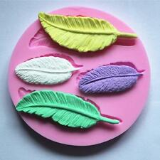 Feather Bird Silicone Mould Cake Topper Fondant Sugar Craft Cake Decorating NEW