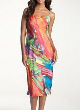 Natori Nightgown Private Luxuries BENGAL Multicolor SZ L NWT $120 Lingerie
