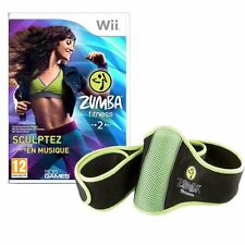 Zumba Fitness 2 Game with Fitness belt Nintendo Wii PAL Brand New