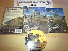 PC STRONGHOLD COMPLETO PAL ESPAÑA