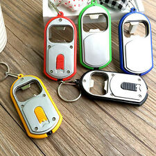 Bottle Opener with Lights Opener Chains Lamp Keyrings Multifunctional Opener abu