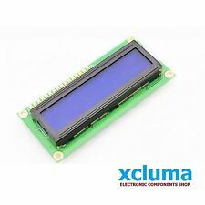 1602 16x2 LCD 16 x 2 MODULE HD44780 BLUE DISPLAY DIY ARDUINO OTHER MCU BE0050