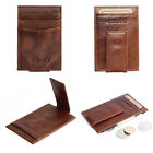 New Magic Wallet slim money clip credit card holder ID business mens leather C0