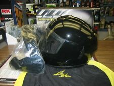 NEW Scorpion EXO900 Transformer modular motorcycle helmet black SM 19-100-03-03