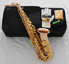 Professional 54 Reference Alto Saxophone Rose Brass Sax italian pads New Case