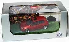 1:43 VW Golf V 2türig copperorange Golf Goal - Volkswagen Dealer-Edition Schuco