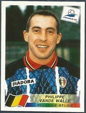 PANINI WORLD CUP FRANCE 1998- #334-BELGIQUE-BELGIE-BELGIUM-PHILIPPE VANDE WALLE