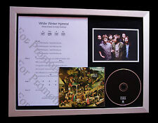 FLEET FOXES White Winter SUPERB CD QUALITY MUSIC FRAMED DISPLAY+FAST GLOBAL SHIP