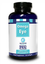 PRN Omega Eye 120 soft gels Scope Vitamin D3 dry eye and blepharitis