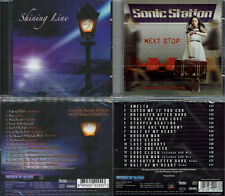 2 CDs, Shining Line (2010) + Sonic Station - Next Stop +4 (2016) AOR, Lionville