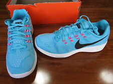 NEW NIKE Lunartempo 2 Running Shoes WOMENS 10 Blue/Black/Pink 818098-402 $100.