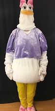 Disney Store Daisy Duck Full Cartoon Costume Women Adult Size Large Cosplay