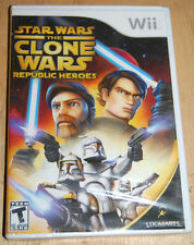 NEW Wii Star Wars The Clone Wars Republic Heroes video game sealed Nintendo