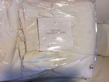 Restoration Hardware Vintage Velvet Drape French Pleat 46x84 Natural White