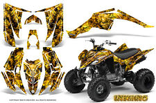 YAMAHA RAPTOR 350 GRAPHICS KIT CREATORX DECALS STICKERS INFERNO Y