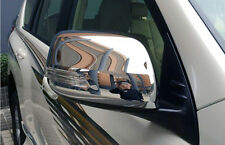 Chrome Side Door Mirror Cover Trim for Toyota Land Cruiser Prado FJ150 2010-2013