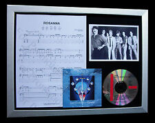 TOTO Rosanna LTD TOP QUALITY CD FRAMED DISPLAY+EXPRESS GLOBAL SHIP+AFRICA+LINE
