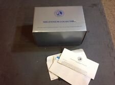 Franklin Mint Millennium Beetle Die cast NIB New With Paperwork 1437/7500