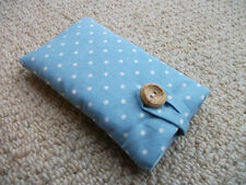 Cath Kidston Mini Dot Blue Fabric - Samsung Galaxy Note 2 3 4 Smart Phone Case