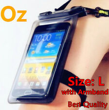 Waterproof Mobile Case with Armband, L Size Supr-G Locking System for Any Phone