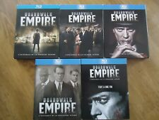 BLU-RAY INTEGRALE LOT * BORDWALK EMPIRE * 5 saisons SERIE complete PROHIBITION