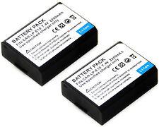 2x 7.4v Battery for LP-E10 Canon EOS 1100D EOS 1200D EOS Rebel T3 EOS Rebel T5