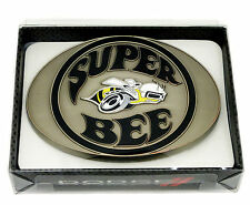 Dodge Belt Buckle Super Bee Muscle Car Spec Cast Officially Licensed Collectible