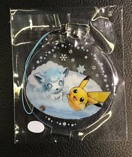 Pokémon Center Exclusive Sapporo Snow Festival Charm - Pikachu And Alola Vulpix