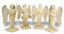 Archangel Statues Set Michael Gabriel Raphael Uriel Set of 4 4899