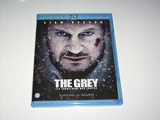 "BLU RAY "" THE GREY LE TERRITOIRE DES LOUPS "" LIAM NEESON CD NEUF !"