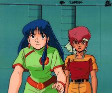 Dirty Pair Anime Cel Layout BG Kei & Yuri Animation Art TV Series 1985