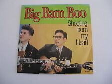 BIG BAM BOO-SHOOTING FROM MY HEART  PROMOSTERE/MONO WLP 45+PS