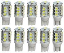 10x ampoule T10 W5W 12V 13LED SMD blanc effet xénon éclairage intérieur plaque