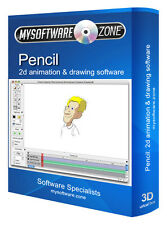 Crayon-animation 2D dessin & Cartoon Dessins Animés Creative logiciels PC Windows