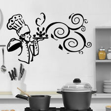 Kitchen Cook  Food Quote Wall Stickers Art Dining Room Removable Decals DIY