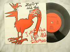 ZOOT AND THE ROOTS I ATE THE LITTLE RED ROOSTER rhino red 26...... 45rpm single