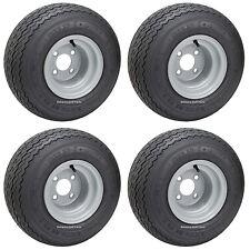 (4) Kenda Hole In One Golf Cart Tire & Rim, 18x8.5-8, 4 ply Club Car Precedent