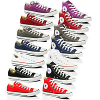 CONVERSE ALL STAR CHUCK TAYLOR BOYS WOMENS SKATE CANVAS TRAINER BOOTS SHOES SIZE