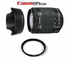 Canon EF-S 18-55 mm f/3.5-5.6 IS STM+ PARALUCE EW63C+FILTRO UV 58MM IN 24/48 ORE