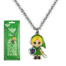 "Cos Japanese Game Anime The Legend of Zelda Link 1""リンク Necklace Pendant Charm"