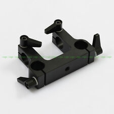 Mount Bracket Rail Block Rod Clamp fr 15mm Rod DSLR Rig Follow Focus Handle Grip