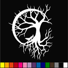 Tree Of Life #12 Decal Wall Glass Window Car Van Motorcycle Bumper sticker