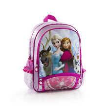 "New Disney Frozen Deluxe Anna Elsa Swan Olaf 16"" Large Backpack Girls School"