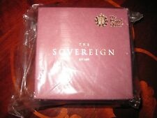2017 gold proof sovereign, sealed, unregistered.Full sovereign.Low COA.