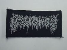 DISSECTION BLACK METAL WOVEN PATCH