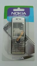 HOUSING NOKIA E50 SILVER + KEYPAD HIGH QUALITY